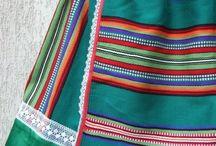 pasiaki / traditional striped textiles