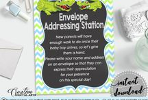 Baby Shower Products in Alligator Theme, Invitations, Games, Decorations And More / Hi, thank you for visiting this beautiful baby shower board with products in Alligator theme. Here, you'll find invitations, games and activities, decorations and more with over 60 products in this theme.
