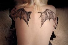 Bat Wings Tattoo