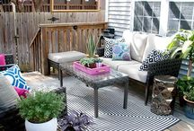 Dream Patio Decor / Transformation and remodeling ideas for the patio.