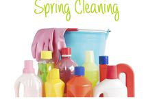 Spring cleaning and organizing