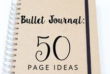 Bullet journal and planning