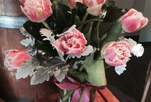 Flower Designs by Alyssiums On Pirie / A range of different fresh flower arrangements made here at Alyssiums On Pirie.