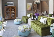 green couch / by Gina Moya