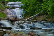 Michigan water falls / Places to see