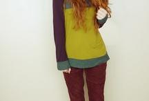 redhead style / Nadia Esra and Elise Buch
