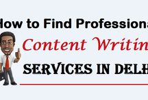 """How to Find  """"Content Writing"""" Services In Delhi"""
