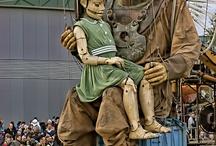 Puppet wanted: különleges bábok a nagyvilágban / bábokról, bábokkal kapcsolatos érdekességekről: marionettek, muppet bábok, vajangok és az egész színes bábvilág