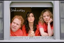 Indoorsy / Three agoraphobics, looking to expand their worlds, move in together and open a day spa in their apartment. A sitcom web series created by Schuyler Helford. Stars: Jimmy Bellinger, Schuyler Helford, Lily Rains