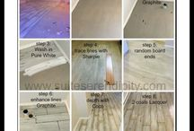 Chalk Paint® on FLOORS - Annie Sloan / by The Purple Painted Lady ~ Tricia Kuntz