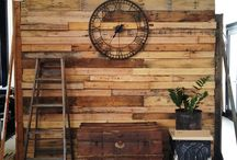Pallets Wall Ideas