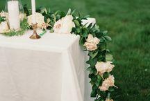 Свадьба: гирлянды
