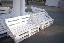 Мебель из поддонов.