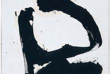R.Motherwell; H.Frankenthaler