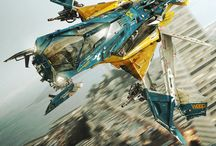 SciFi Vehicles/drones