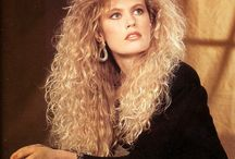 Hair Inspiration / Big hair, Perms, Feathered etc.