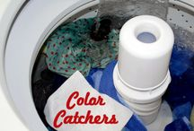Colour catchers laundry