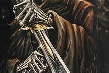 heavy / mooie kunstzinnige en met name  grime reapers pics