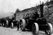 Russian Road Steam Engine esp Steam cable ploughing / This is photos of road steam engines found on Russian websites. Plus a few portables especialy scenes of historical use