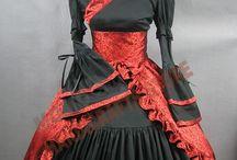 Asian Dresses and Kimonos