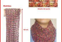 mitones al crochet