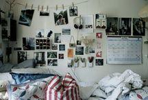 le mur / le monde partout dans la chambre
