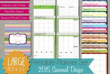 Agenda Ideas / Planner ideas and free printables