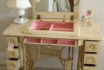 make up table and akcesoriess