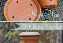 Bird feeder garden stuff