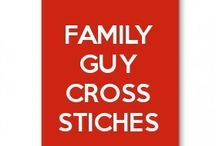 family guy cross stitches