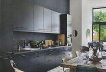 Kitchen / Kitchen, dining, furniture, interior,