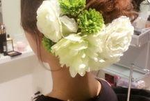 ウェディング髪型・ヘアアクセ