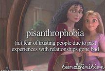 phobia, mania.