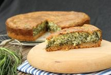 all kinds of savory pies & recipes / all kind of salted pies . Toutes sortes de tartes salé!