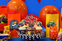 Blaze Birthday Party