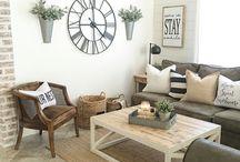 off white living room decor