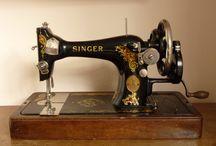 oude naaimachine's