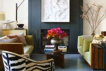Eclectic and Bold interiors
