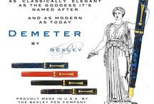 Bexley Pens! / We are proud to welcome this American Pen Brand to the Federalist Family! We debuted the products we represent at the Philly Pen Show! Save 20% Off Daily!