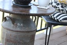 Old to Like New Again / What to do with old items found around the farm / by Nancy Mace