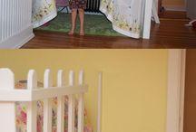 Кровати-чердаки для девушек