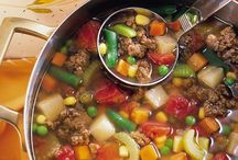 Weight watchers recipes / Hamburger soup