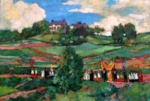 Paintings of Sint Pieter Maastricht