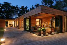 Enfamiljshus / Villa projekt som vi har levererat.