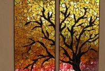 mosaici riciclo e....
