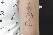 Coser tatuajes