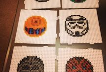 Perler Beads / Graphs / Cross Stitch / Using these in Minecraft and in crochet.  I know, my hobbies don't quite go together, do they?  :) / by Carmen Daugherty
