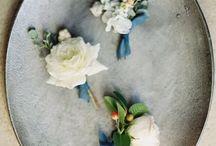 Details of wedding decorations