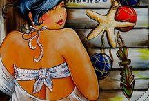 curvy schilderen