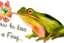 How to kiss a frog....